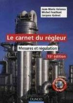 LE CARNET DU REGLEUR - 15EME EDITION - MESURE ET REGULATION